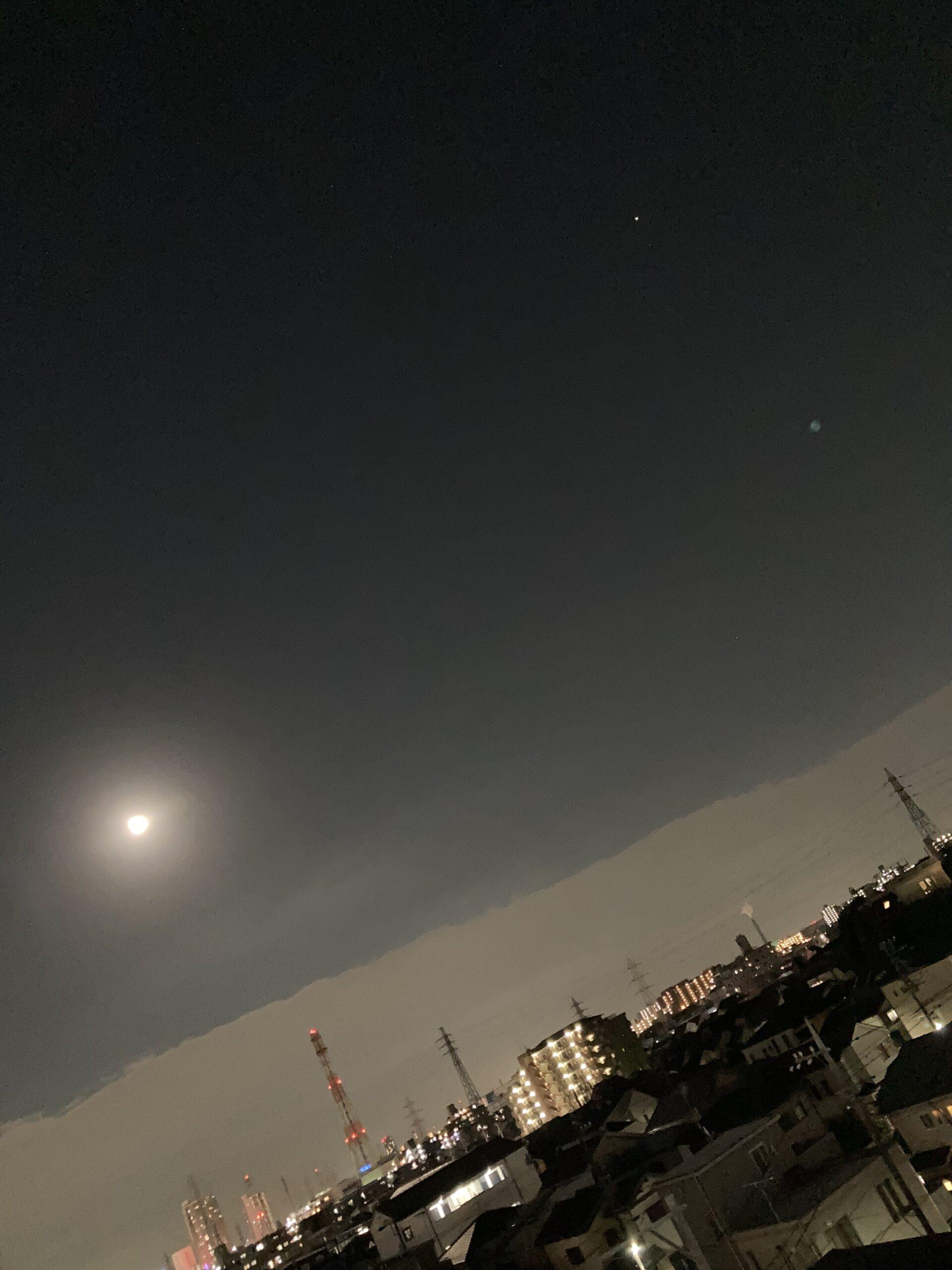 中秋の名月の投稿写真