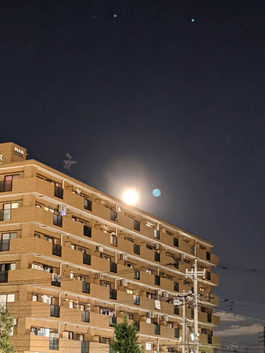 10月の満月、ハンタームーン!の投稿写真